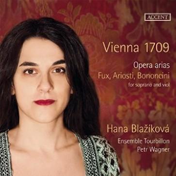 Hana Blažíková/Ensemble Tourbillon – Vienna 1709 – Opera Arias